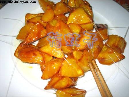 经典美味拔丝红薯