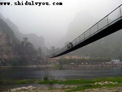 孤山寨铁索桥